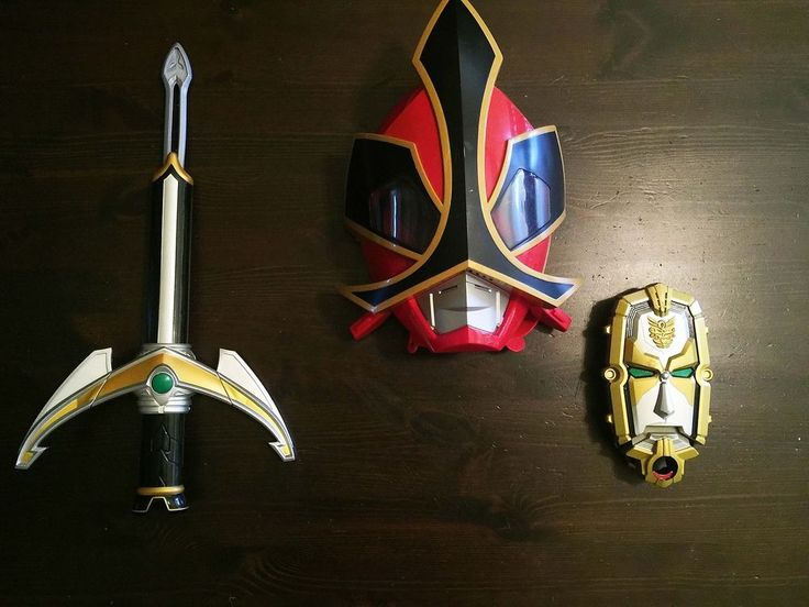 how to make a power ranger samurai sword