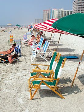 Beach Chairs In North Myrtle Beach, South Carolina. Part 74
