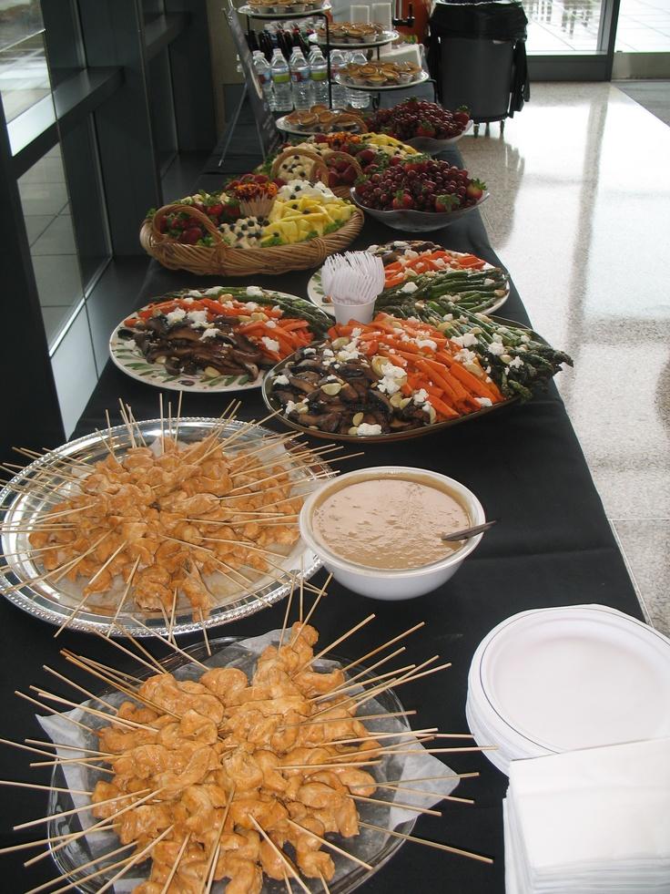 app buffet at norm dicks center grooms tablebuffet
