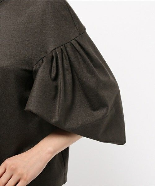 Blouse with Pleated Sleeves