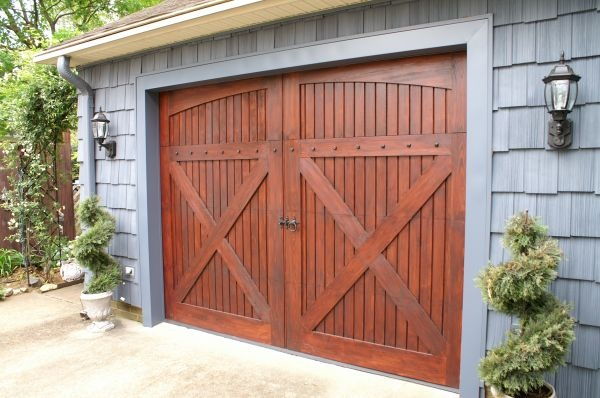 Love The Barn Style Garage Door For The Home