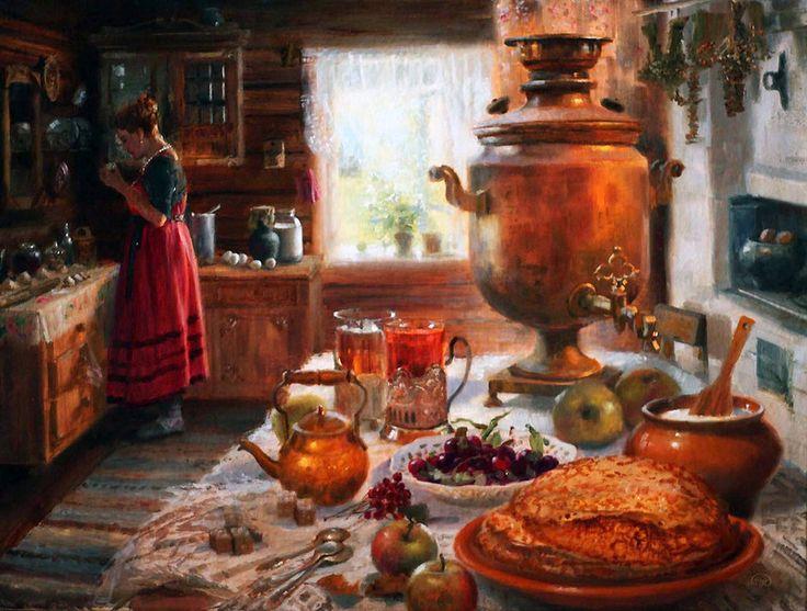 Vladimir Zhdanov, 1959 | Siberian landscape painter | Tutt'Art@ | Pittura * Scultura * Poesia * Musica |