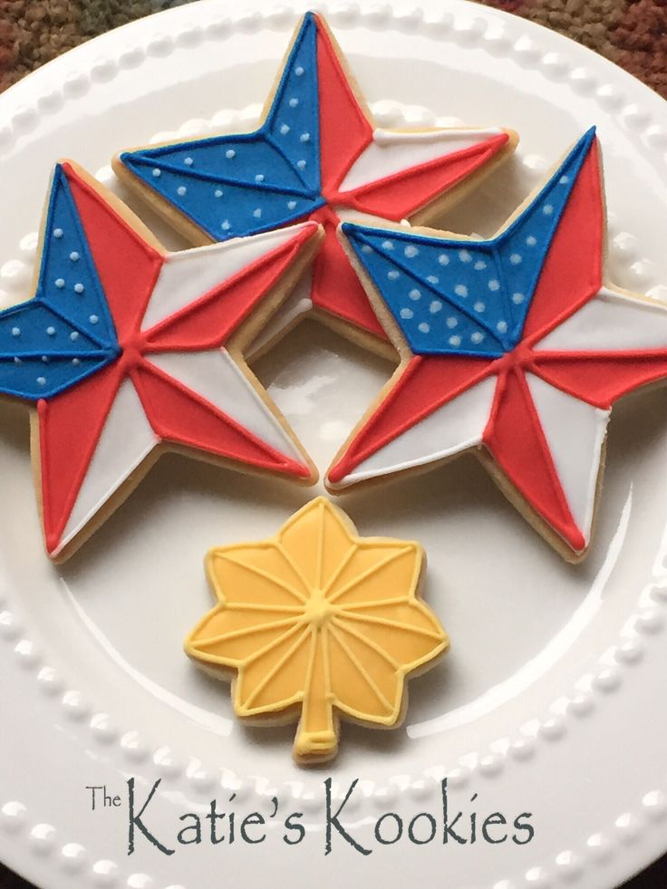 Navy Officer LCDR cookies. Military cookies
