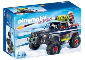 PLAYMOBIL Action: Snow caravan with ice-cream pirates (9059)