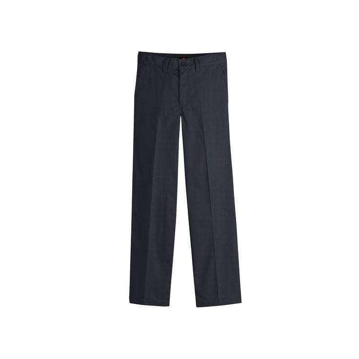 Boys 8-20 Dickies Flex Classic-Fit Straight-Leg Ultimate Khaki Pants, Boy's, Size: 20, Black