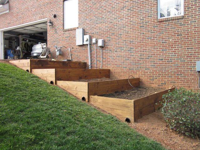 Diy Design Fanatic Raised Beds On A Slope Garden