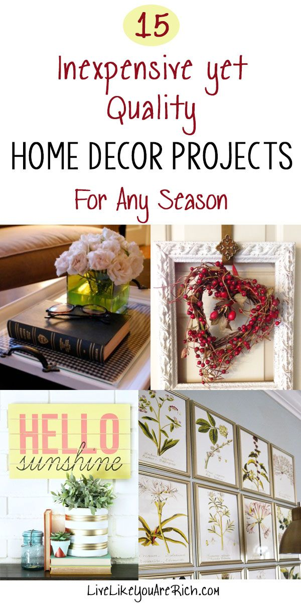 17 Best Images About Diy Home Decor Ideas On Pinterest