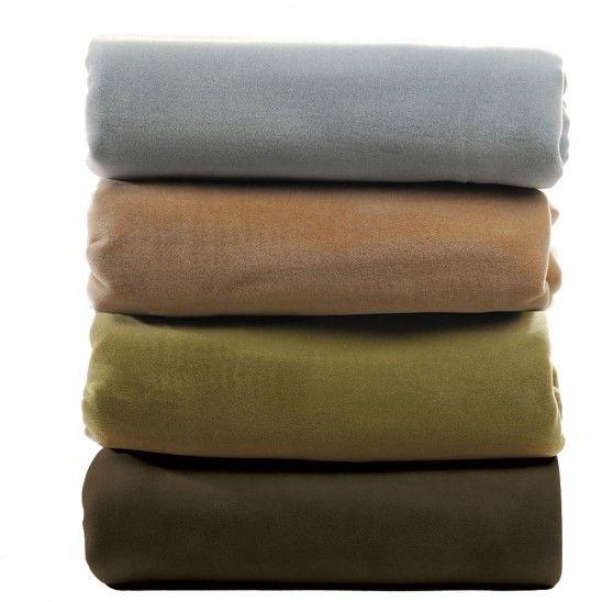 Velvet Lux plush blanket collection