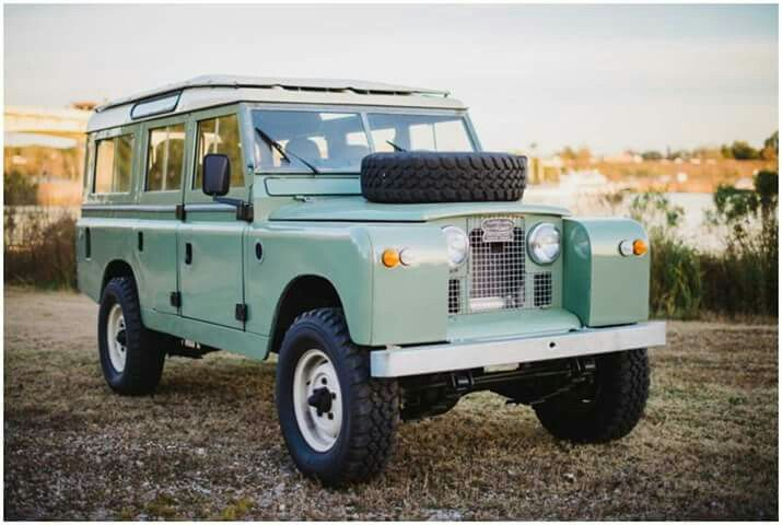 Land Rover 109 Serie II A sw se.