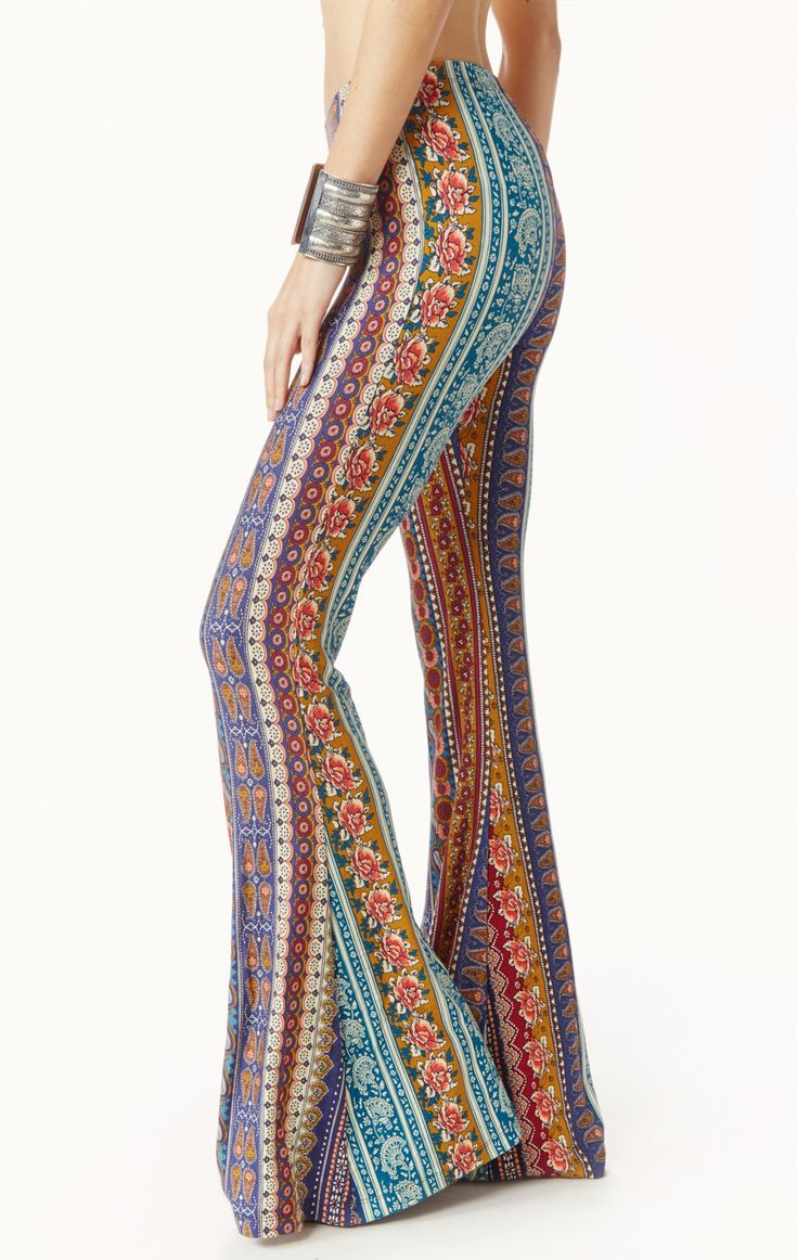 Hubby wants me to wear these.  He's a very grabby butt guy.   American Hippie Bohéme Boho Style Palazzo Pants