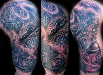 fireman tattoos | Firefighter Tattoos Pictures and Images : Page 20