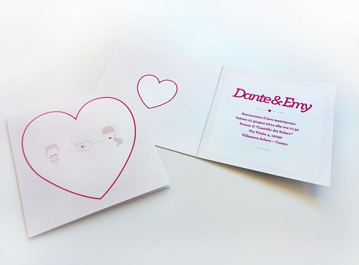 We realized concept and graphics for a special wedding invitation. www.brilliantfactory.it