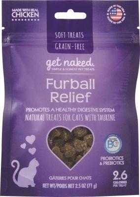 Natural Polymer: Get Naked Grain Free Cat Furball, Usa 2.5 Oz