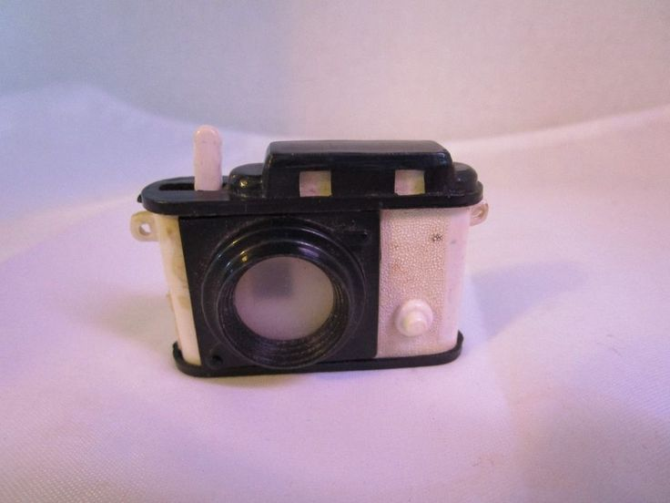 1950's Animals Plastic Camera Viewer Novelty Toy 16 Black & White Photos Vintage #Unbranded