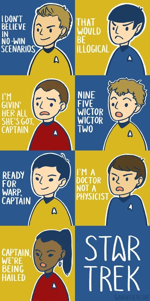 Star Trek quotes :D