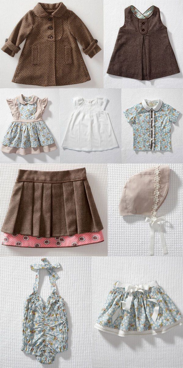 Olive's Friend Pop, such cute little girl clothes!