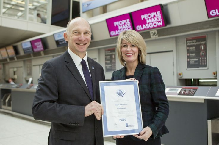 Paisley Scotland | GLASGOW AIRPORT FIRST IN UK TO SECURE  INDUSTRY SEAL OF APPROVAL FOR SERVICE | http://www.paisley.org.uk