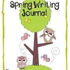 FREEBIE in the PREVIEW-  Spring Writing Journal Covers are just that!  Making writing journals for your class couldn't be easier. You provide your ...
