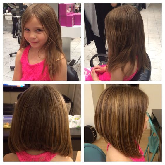 Children's inverted lob. Amelia wants this haircut! ❤️