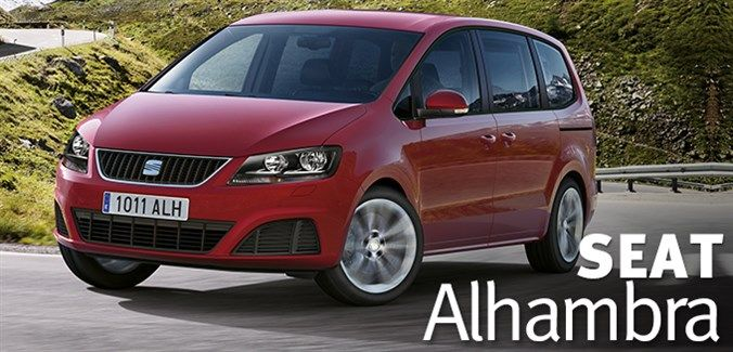 Winner of What Car? Best MPV 2013 and Auto Express Best MPV 2013; the SEAT Alhambra.