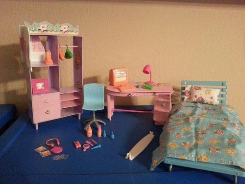 barbie bed and doll bedroom gift set barbie bedroom set bedroom sets