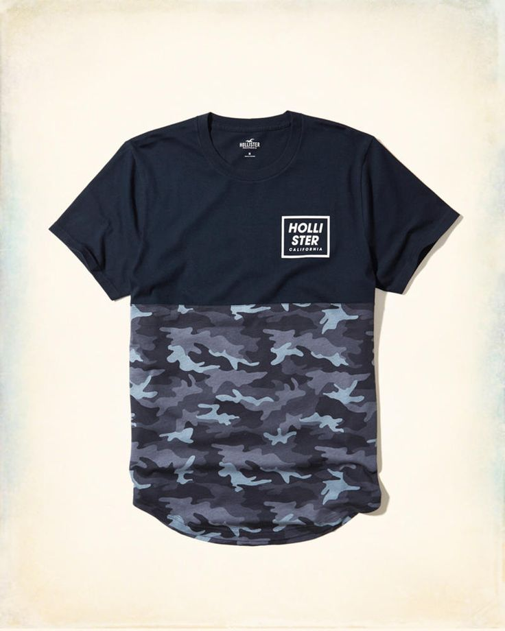 Guys Camo Graphic Tee | Guys Tops | HollisterCo.com