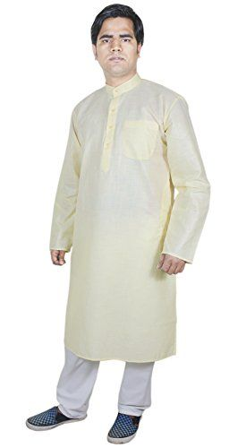 Mens Clothing Cheap Kurta Pajama Wedding Indian Fashion Clothes Yellow Size L RoyaltyLane http://www.amazon.co.uk/dp/B01AFYWPT4/ref=cm_sw_r_pi_dp_pUJQwb1DQKTWC