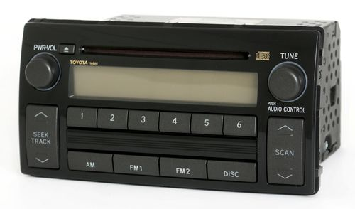Toyota Camry 2005-2006 Radio AM FM CD Player Face 16860 Part Number 86120-AA160