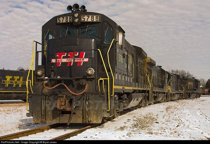RailPictures.Net Photo: TTI 5788 Transkentucky Transportation Railroad GE U36B at Paris, Kentucky by Bryan Jones