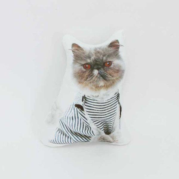 Short Pendant - Paisley Kittens by VIDA VIDA aFUGkIBZde
