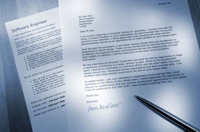 Cover Letter Tips, Cover Letter Example And Resume