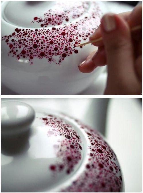 DIY : Personnalise ta vaisselle à l'aide de quelques astuces