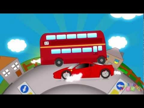 A big red bus, a big red bus, mini mini mini and a big red bus. Great song for children to improvise their own verses to
