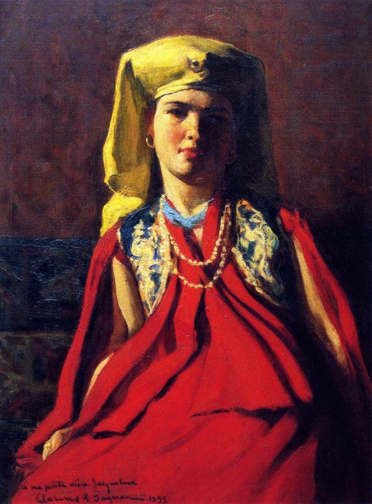 The Athenaeum - Armenian Woman (Clarence Gagnon - 1898-1899)