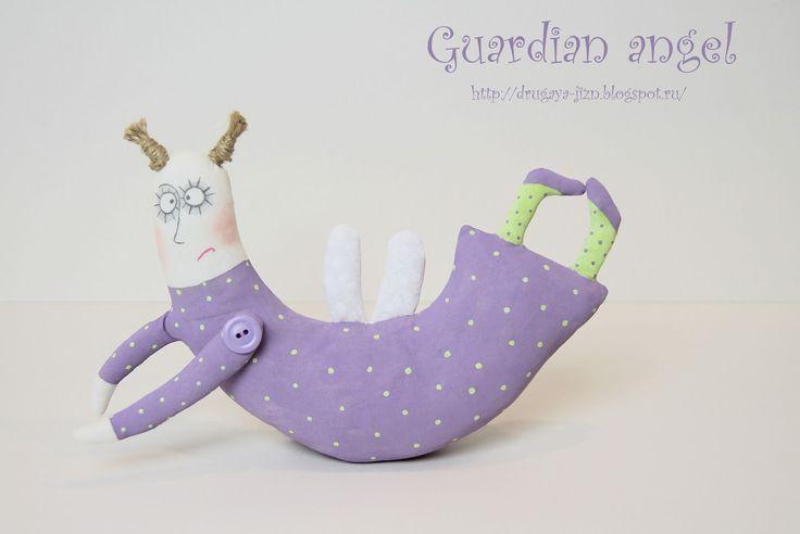 Медитация с иглой и пяльцами...: Ангел-хранитель/Guardian angel