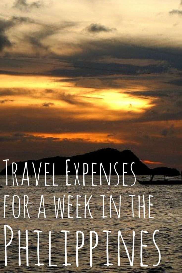 What does it cost to go on vacation to the Philippines (El Nido) for a week. Here is a breakdown of all expenses for two people.