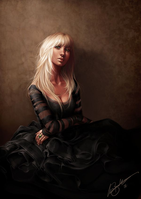 Digital Art by Charlie Bowater