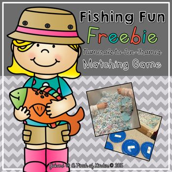 This is a fun numeracy centre that strengthens your students number sense to 20! Students will catch the fish with a magnetic fishing rod, take the fish off the rod and match the ten-frame on the fish to the correct numeral. I hope your students love this game as much as mine do!