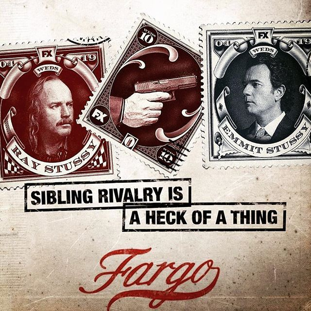 Ray and Emmit Stussy. They got some shit they need to deal with. @fargo 4/19 #FX #bringitonmcgregor_ewan