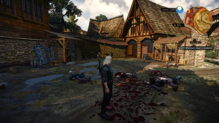 BLOOD at The Witcher 3 Nexus - Mods and community