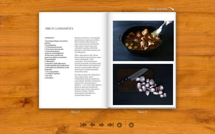 Reseptikirja lahjaksi! Lue vinkit keittokirjan tekijälle ja lataa ifolor Designer omalle koneellesi. 24 askelta jouluun - http://www.24askeltajouluun.com/blogi/reseptikirja-joululahjaksi/
