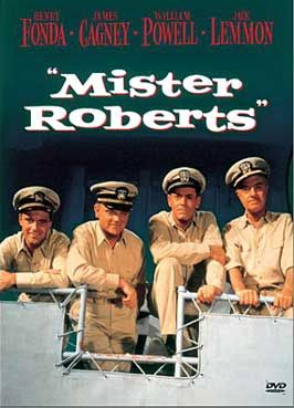 """""""mister roberts"""" w/henry fonda, jack lemmon, william powell and james cagney ..."""