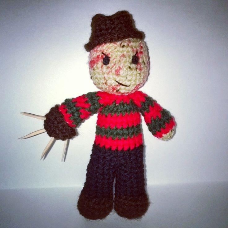 Crochet Horror Movie Characters