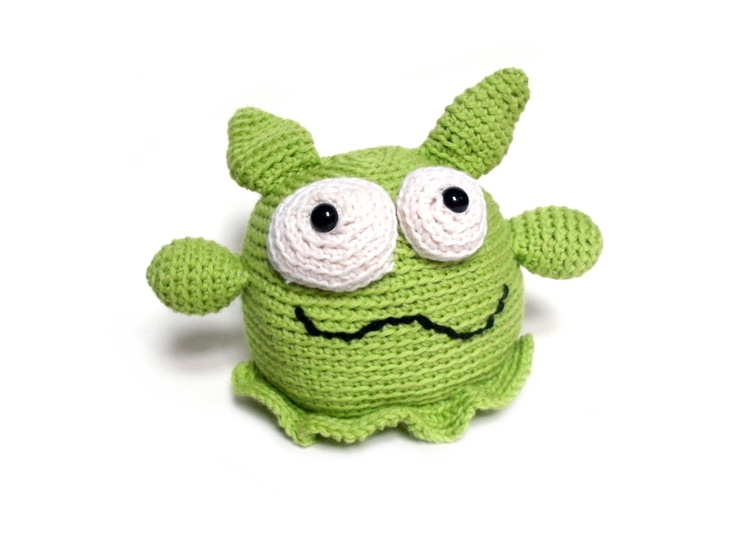 Amigurumi Monster Pattern Free Crochet : Best crochet and knitted monsters images knit