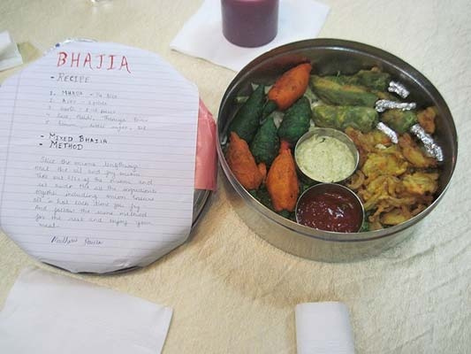 Bhajia competition at Hotel United-21 in Thane.