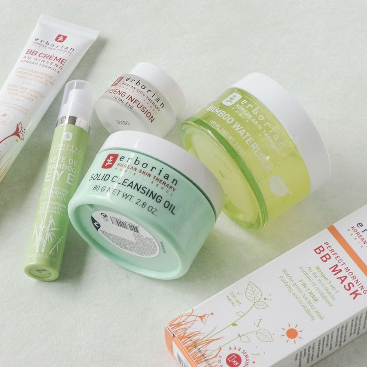 Traditional Korean herbs and science meets French luxury. https://www.sweetcare.pt/b/erborian