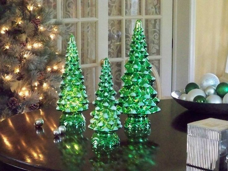 61 best Mercury Glass images on Pinterest | Christmas deco ...