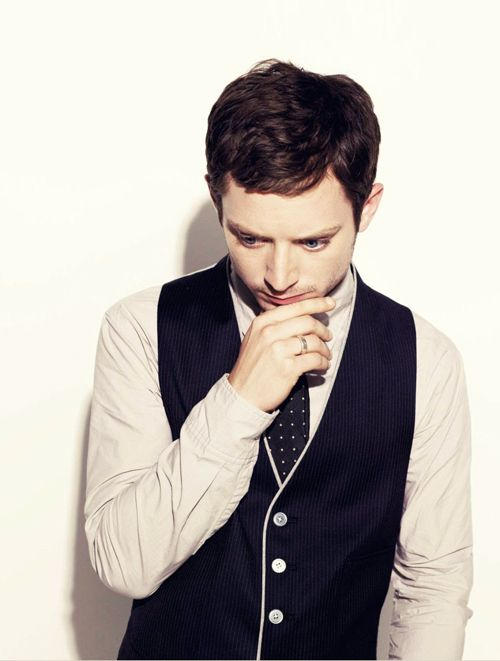 Elijah Wood-this man can dress like nobody's business!