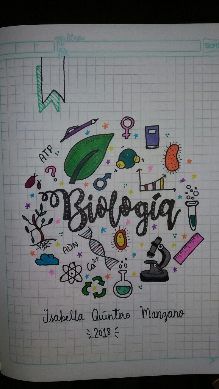 Cuaderno biología  Biology Notebook