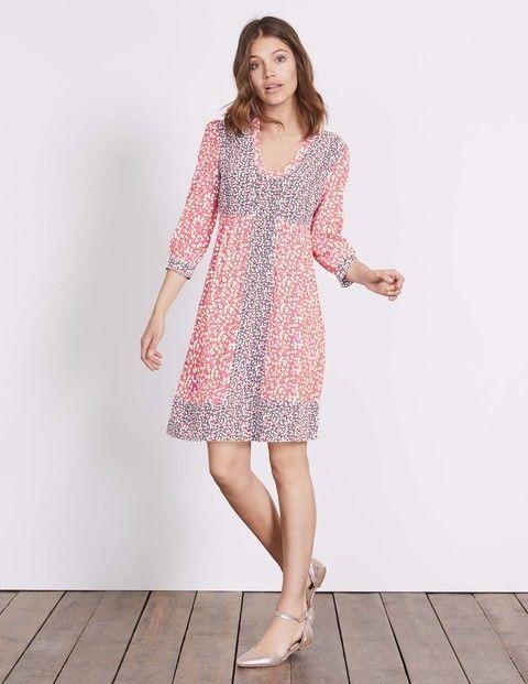 Boden Mollie Dress Pink Size Uk 16l Rrp 95 Dh087 Cc 01 Fashion